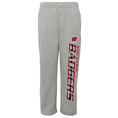 Boys 8-20 Wisconsin Badgers Fleece Lounge Pants