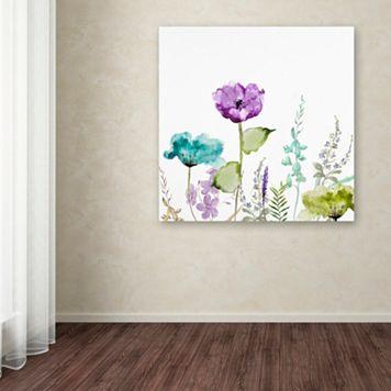 Trademark Fine Art Avril I Canvas Wall Art
