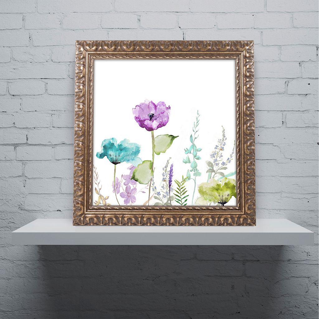 Trademark Fine Art Avril I Ornate Framed Wall Art