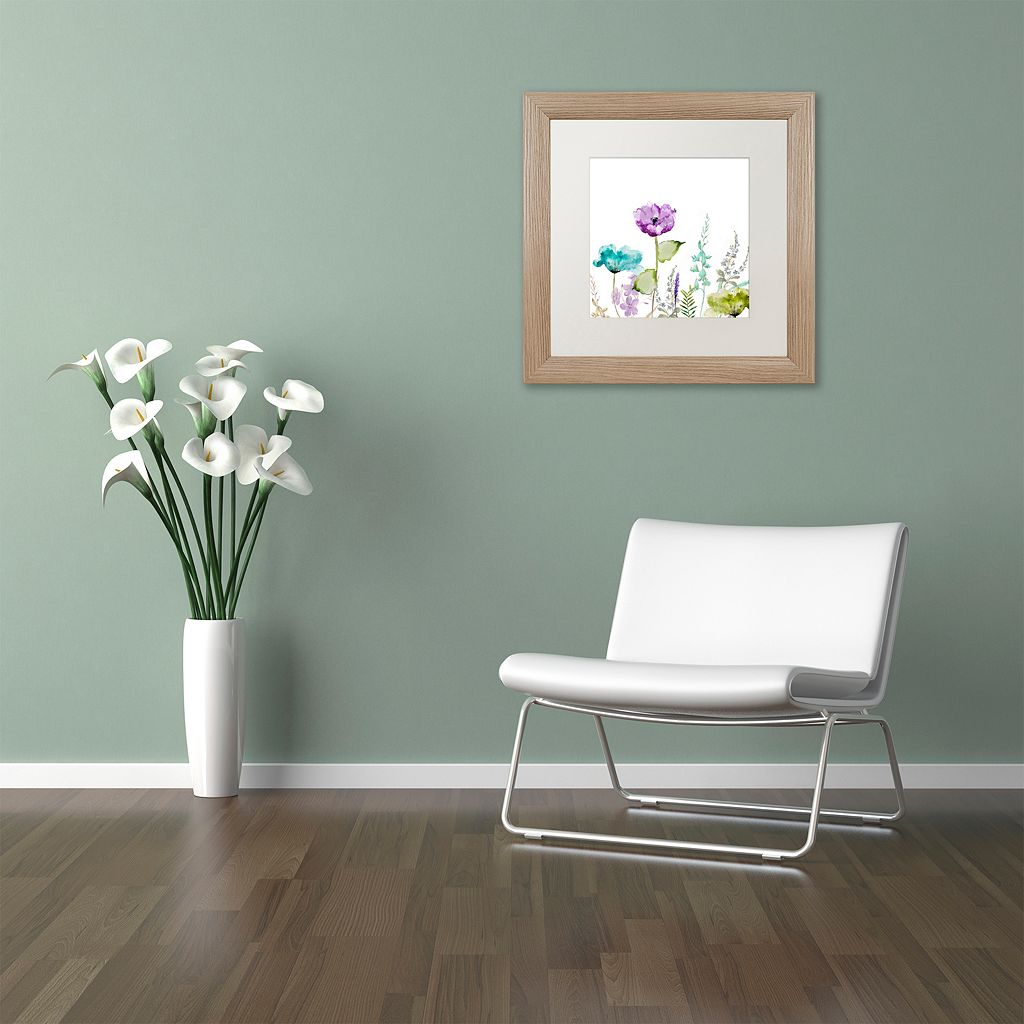 Trademark Fine Art Avril I Distressed Framed Wall Art