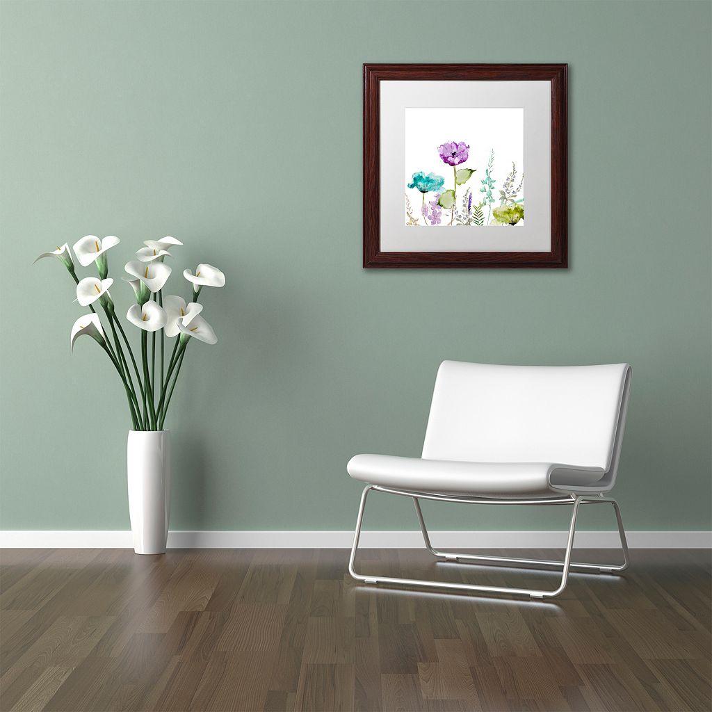 Trademark Fine Art Avril I Traditional Framed Wall Art