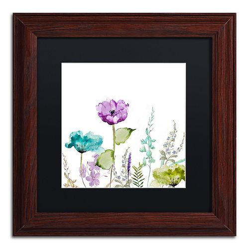 Trademark Fine Art Avril I Traditional Framed Wall Art