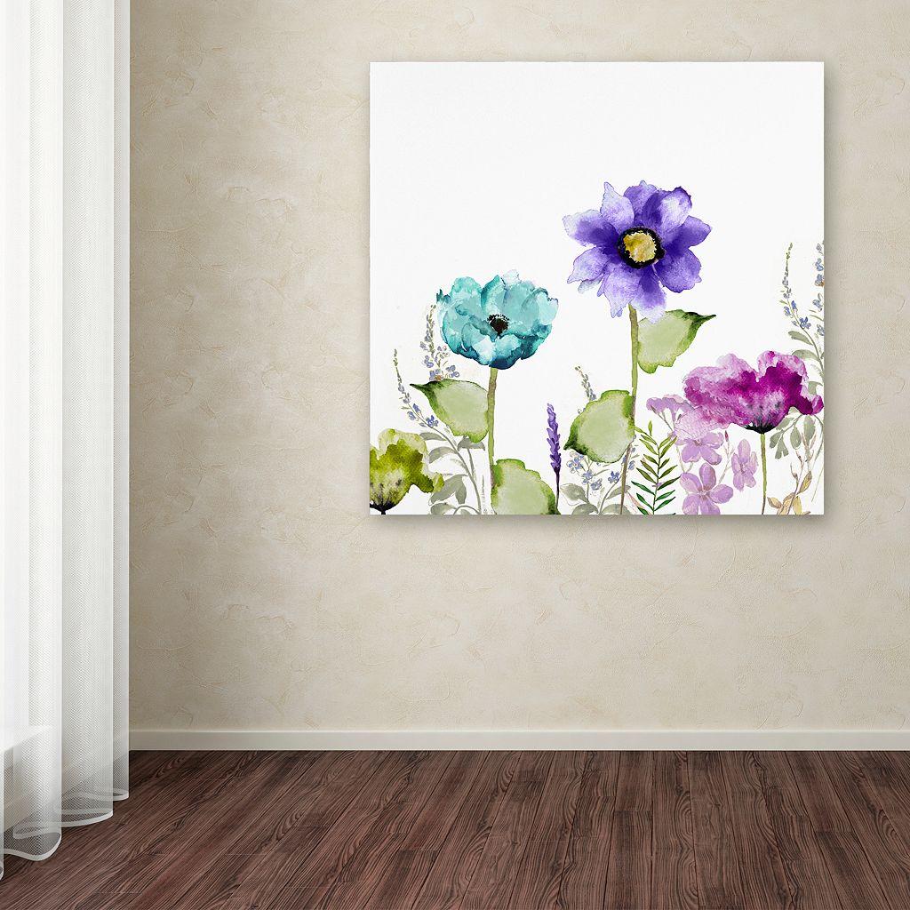 Trademark Fine Art Avril II Canvas Wall Art