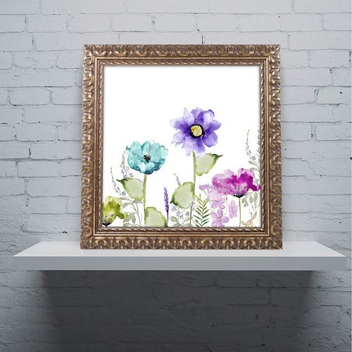 Trademark Fine Art Avril II Ornate Framed Wall Art