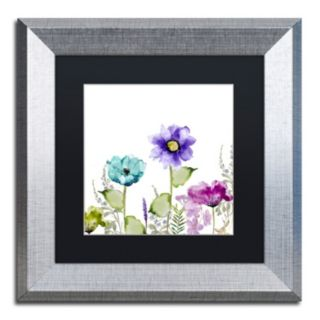 Trademark Fine Art Avril II Framed Wall Art
