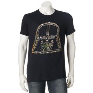 Men's Star Wars Darth Vader Realtree Camo Icon Tee