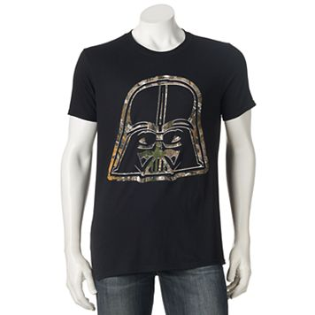Men's Star Wars Darth Vader Realtree Camo Icon Tee