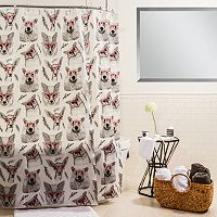 Splash Home Woodland Creatures Shower Curtain