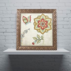 Trademark Fine Art Sasha I Ornate Framed Wall Art