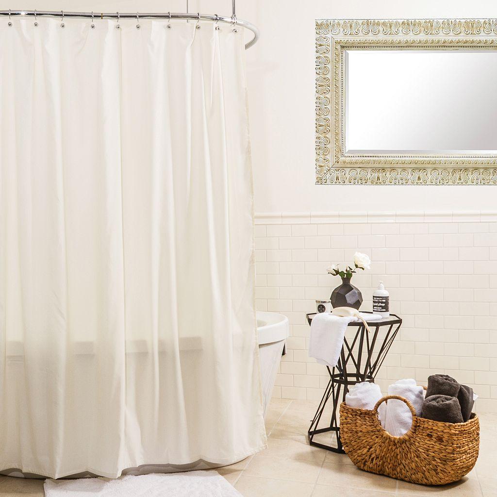 Splash Home Hydro Microfiber Shower Curtain Liner
