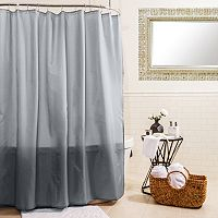 Splash Home Fabric Shower Curtain Liner