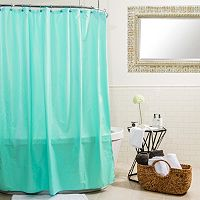Splash Home Microfiber Shower Curtain Liner
