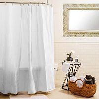 Splash Home Heavy Gauge Shower Curtain Liner