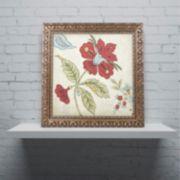 Trademark Fine Art Sasha II Ornate Framed Wall Art
