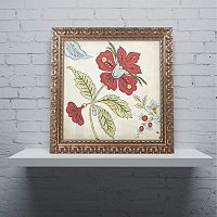 Trademark Fine Art Sasha II Ornate Framed Wall Art