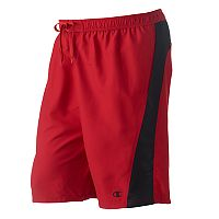Big & Tall Champion Colorblock Microfiber 2-Pocket Swim Trunks