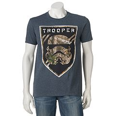 Men's Star Wars Stormtrooper Realtree Camo Icon Tee