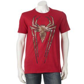 Men's Marvel Spider-Man Realtree Camo Icon Tee