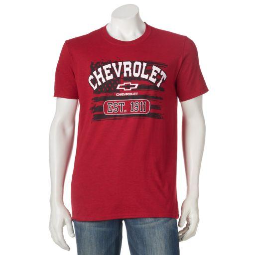 Men's Chevrolet Flag Tee