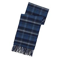 Men's Chaps Reversible Plaid and Windowpane Scarf
