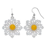 Daisy Nickel Free Drop Earrings