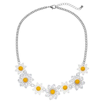 Daisy Statement Necklace