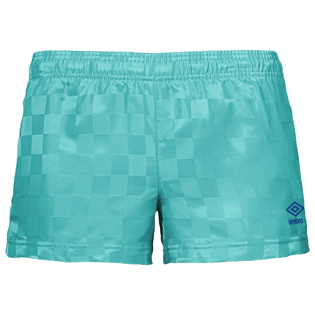 Women's Umbro Checkboard Shorts