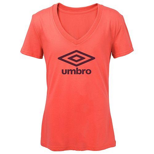Women's Umbro Logo Graphic Tee