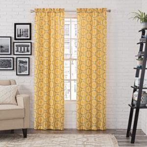 Pairs To Go 2-pack Arlene Curtain