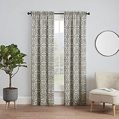 Pairs To Go 2-pack Brockwell Window Curtains