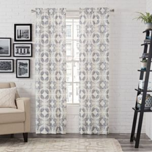 Pairs To Go 2-pack Aldrich Curtain