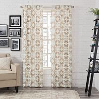 Pairs To Go 2-pack Aldrich Window Curtain