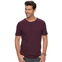 Men's Marc Anthony Slim-Fit Slubbed Henley