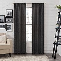 Pairs To Go 2-pack Ibiza Metallic Window Curtain