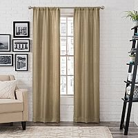 Pairs To Go Ibiza Metallic Window Curtain Set