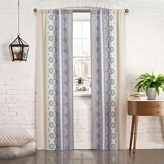 Pairs To Go 2-pack Mantra Window Curtains