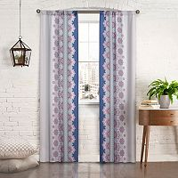 Pairs To Go 2-pack Mantra Window Curtain