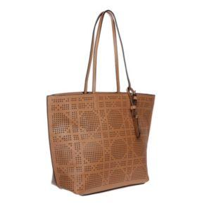 La Diva Riley Perforated Shoulder Bag