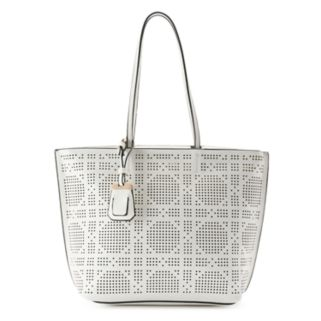 La Diva Riley Perforated Shoulder Bag