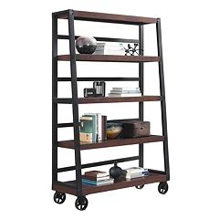 Altra Wade Wheeled Ladder Bookcase
