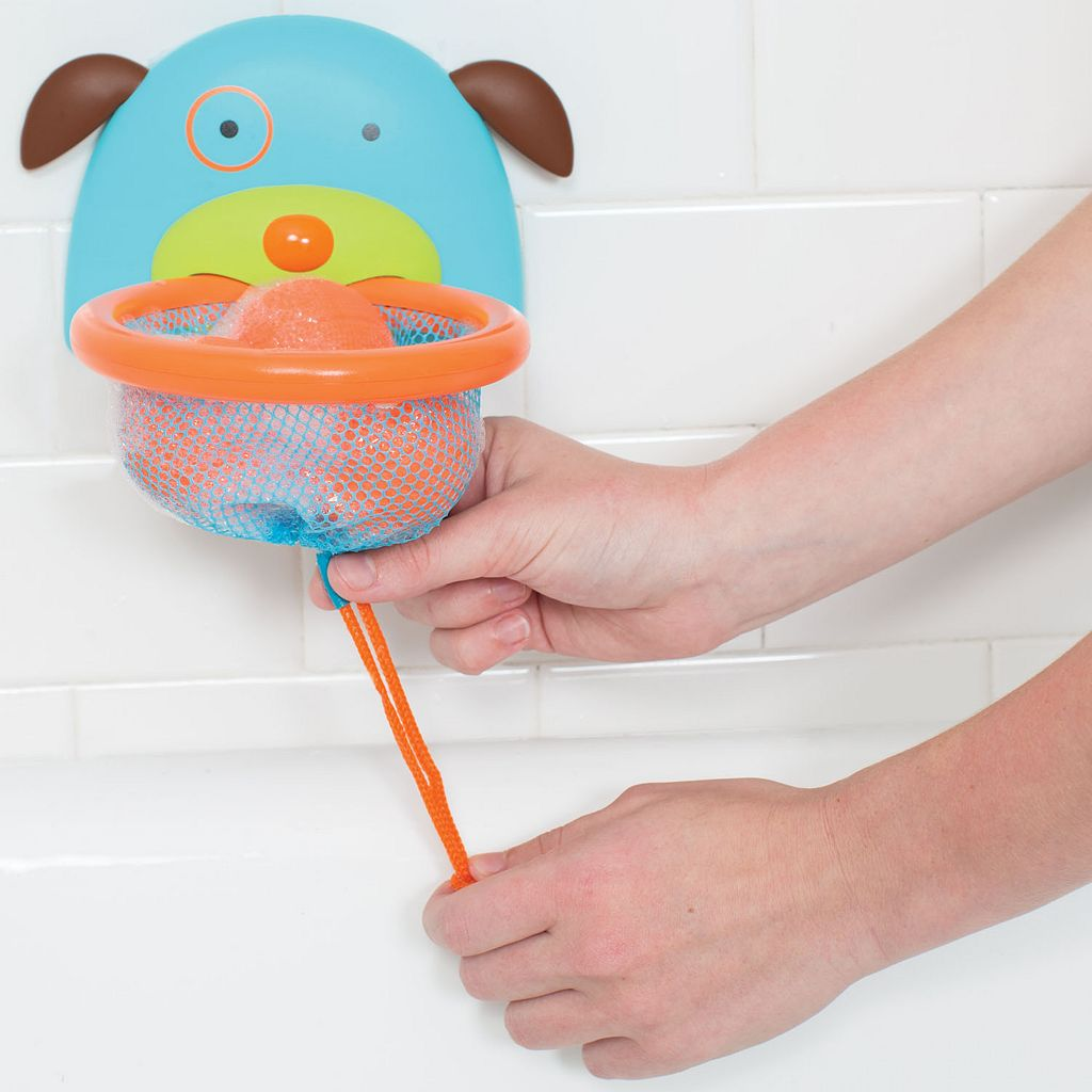 Skip Hop ZOO Dog Bathtime Basketball Hoop
