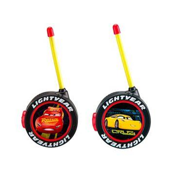 Disney / Pixar Cars 3 Lightning McQueen & Cruz Ramirez Walkie Talkies by Kid Designs