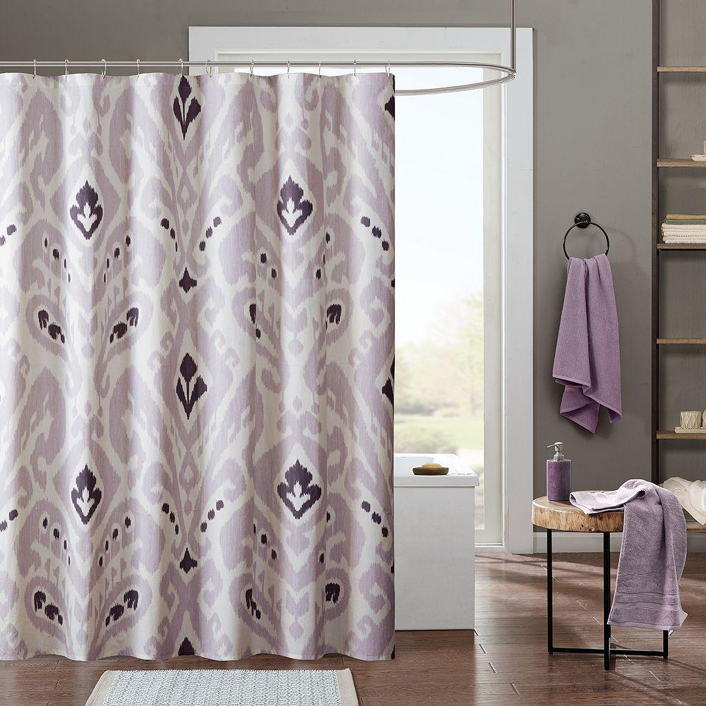 INK+IVY Sasha Printed Shower Curtain