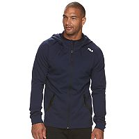 Big & Tall FILA SPORT® Athletic-Fit Space-Dye Fleece 2.0 Fleece Jacket