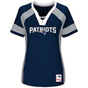 Plus Size Majestic New England Patriots Draft Me Tee