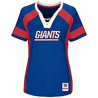Plus Size Majestic New York Giants Draft Me Tee