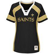 Plus Size Majestic New Orleans Saints Draft Me Tee