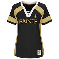 Plus Size Majestic New Orleans Saints Draft Me Tee