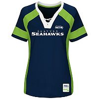 Plus Size Majestic Seattle Seahawks Draft Me Tee