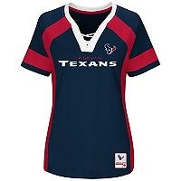 Plus Size Majestic Houston Texans Draft Me Tee